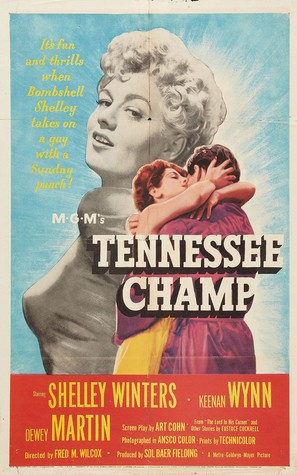 Tennessee Champ - Theatrical poster (thumbnail)
