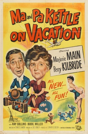 Ma and Pa Kettle on Vacation - Movie Poster (thumbnail)