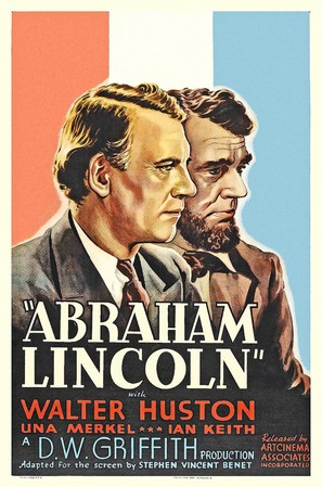Abraham Lincoln - Movie Poster (thumbnail)