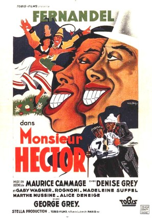 Monsieur Hector - French Movie Poster (thumbnail)