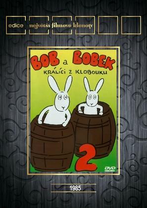 """""""Bob a Bobek, králíci z klobouku"""" - Czech DVD cover (thumbnail)"""