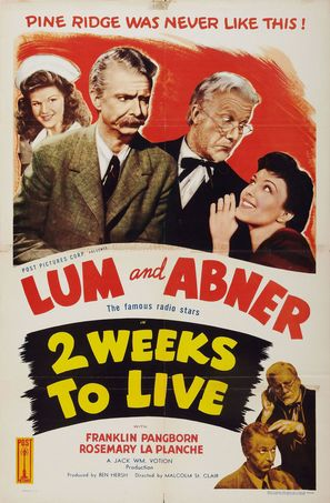 Two Weeks to Live - Movie Poster (thumbnail)
