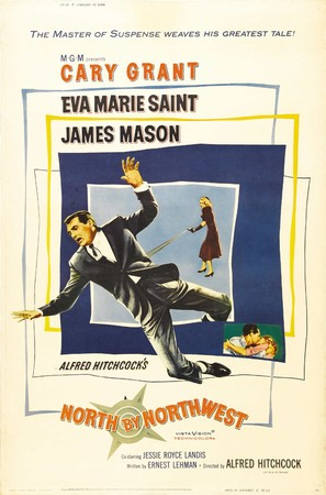 North by Northwest - Movie Poster (thumbnail)