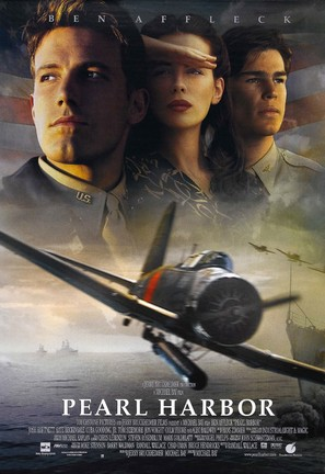 Pearl Harbor - Movie Poster (thumbnail)