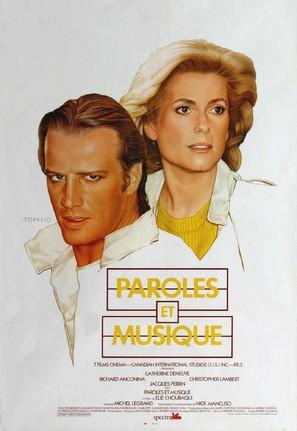 Paroles et musique - Canadian Movie Poster (thumbnail)