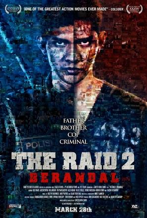The Raid 2: Berandal - Indonesian Movie Poster (thumbnail)