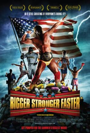 Bigger, Stronger, Faster* - Movie Poster (thumbnail)