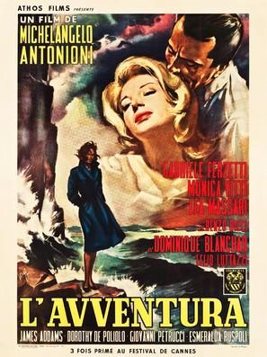 L'avventura - French Movie Poster (thumbnail)
