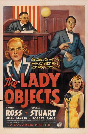 The Lady Objects - Movie Poster (thumbnail)