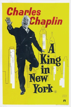 A King in New York - British Movie Poster (thumbnail)