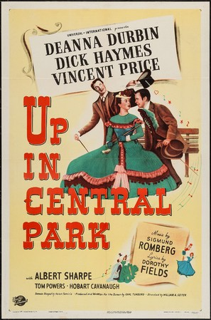 Up in Central Park - Movie Poster (thumbnail)