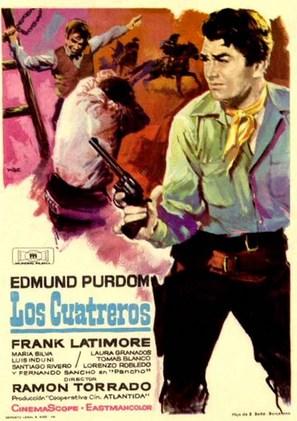 Cuatreros, Los - Spanish poster (thumbnail)