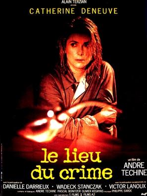 Le lieu du crime - French Movie Poster (thumbnail)