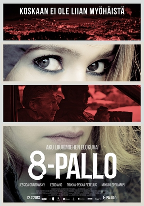 8-Pallo - Finnish Movie Poster (thumbnail)