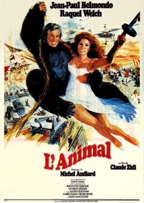 L'animal - French Movie Poster (thumbnail)