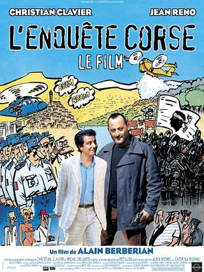 L'enquête corse - French Movie Poster (thumbnail)