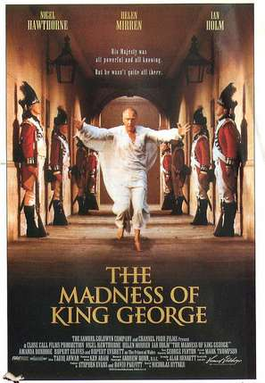 The Madness of King George - Movie Poster (thumbnail)