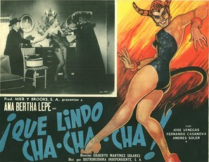 Què lindo Cha Cha Cha - Mexican poster (thumbnail)