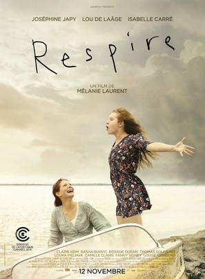 Respire - French Movie Poster (thumbnail)