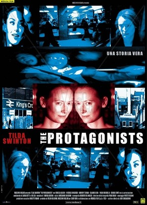 The Protagonists - Italian Movie Poster (thumbnail)