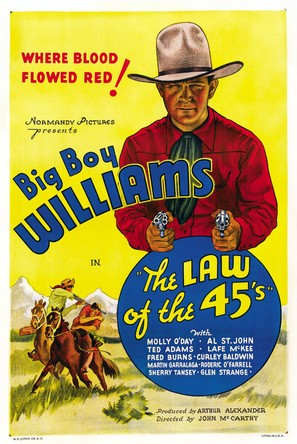 The Law of 45's - Movie Poster (thumbnail)
