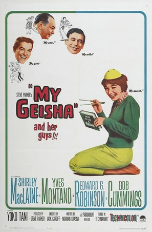 My Geisha - Movie Poster (thumbnail)