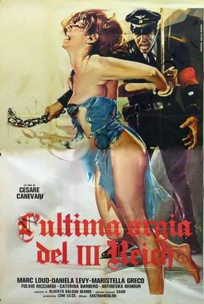 L'ultima orgia del III Reich - Italian Movie Poster (thumbnail)