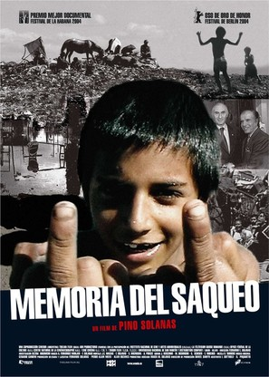 Memoria del saqueo - Spanish poster (thumbnail)