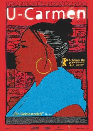 U-Carmen e-Khayelitsha - German poster (thumbnail)
