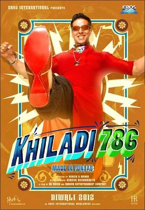 Khiladi 786 - Indian Movie Poster (thumbnail)