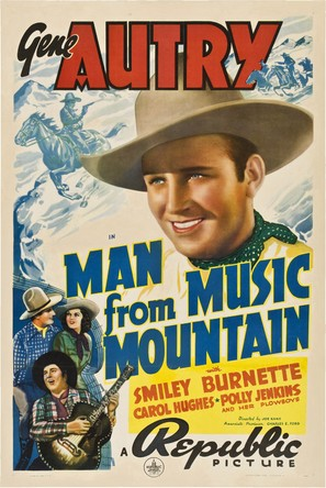 Man from Music Mountain - Movie Poster (thumbnail)