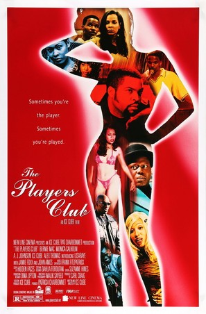 The Players Club - Movie Poster (thumbnail)