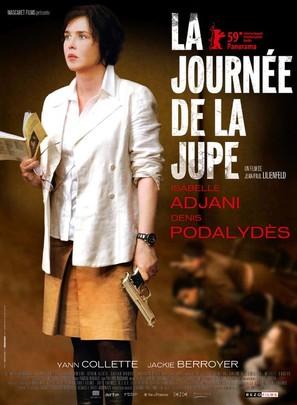 La journée de la jupe - French Movie Poster (thumbnail)
