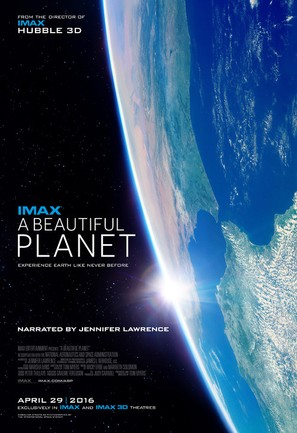 A Beautiful Planet - Movie Poster (thumbnail)