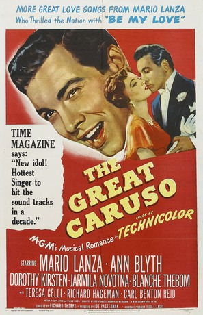 The Great Caruso - Movie Poster (thumbnail)