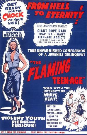 The Flaming Teen-Age - Movie Poster (thumbnail)