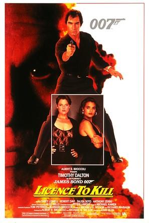 Licence To Kill - Movie Poster (thumbnail)