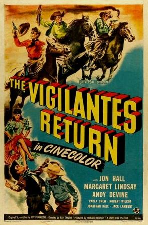 The Vigilantes Return - Movie Poster (thumbnail)