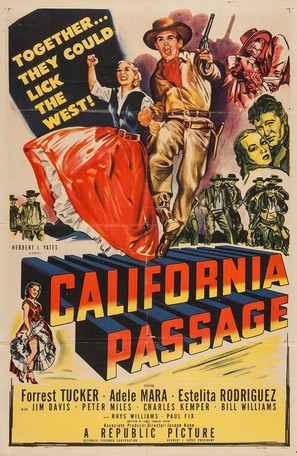 California Passage - Movie Poster (thumbnail)