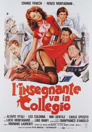 L'insegnante va in collegio - Italian Movie Poster (thumbnail)
