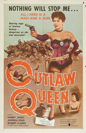 Outlaw Queen - Movie Poster (thumbnail)