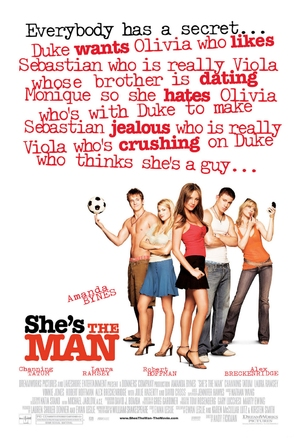 She's The Man - Movie Poster (thumbnail)