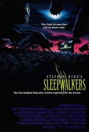 Sleepwalkers - Theatrical movie poster (thumbnail)