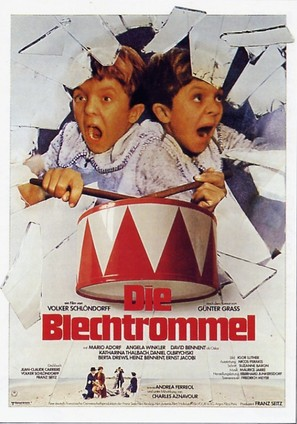 Die Blechtrommel - German Movie Poster (thumbnail)