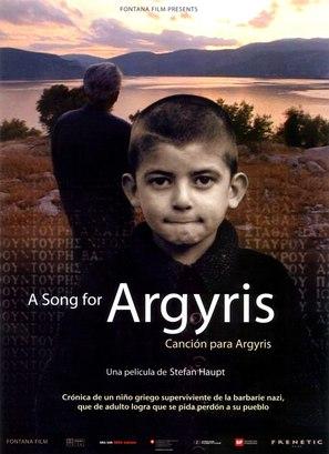 Lied für Argyris, Ein - Spanish poster (thumbnail)