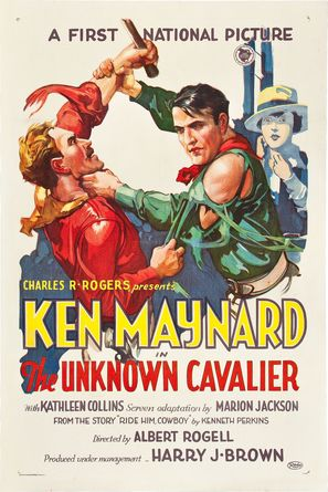 The Unknown Cavalier - Movie Poster (thumbnail)