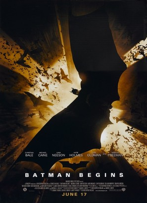 Batman Begins - Movie Poster (thumbnail)