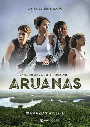 """Aruanas"" - Brazilian Movie Poster (thumbnail)"