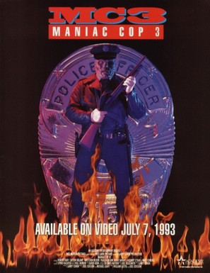 Maniac Cop 3: Badge of Silence - Movie Poster (thumbnail)