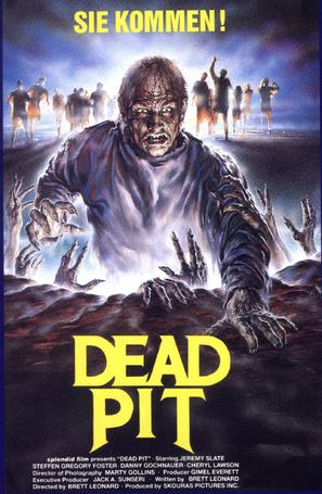 The Dead Pit - German Movie Poster (thumbnail)